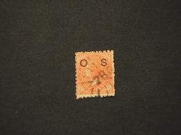 SOUTH WALLES - SERVIZIO - 1879/86 REGINA  1  P.  - TIMBRATO/USED - 1850-1906 New South Wales