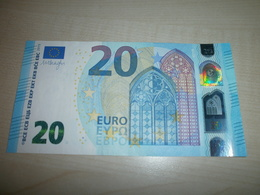 20 EUROS (U U009 A1) - EURO
