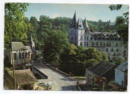 """Belgique--DURBUY SUR OURTHE -1983--La Plus Petite Ville Du Monde--cachet  JEMELLE  --Beau Timbre """"Mouscron"""" Seul Sur CPM - Durbuy"""