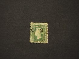 SOUTH WALLES - SERVIZIO - 1879/86 REGINA  3 P.  - TIMBRATO/USED - 1850-1906 New South Wales