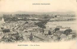 COLONIES FRANCAISES MARTINIQUE FORT DE FRANCE - Fort De France