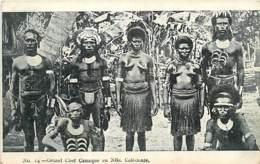 COLONIES FRANCAISES NOUVELLE CALEDONIE GRAND CHEF CANAQUE FEMMES SEINS NUS - Nouvelle Calédonie