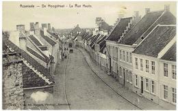 ASSENEDE - De Hoogstraat - La Rue Haute - 16440 - Uitg. Ad. Masure Photogr. - Assenede