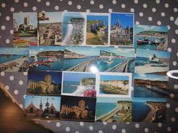 LOT  DE  19       CARTES POSTALES  VIERGES  DE  FECAMP - Cartes Postales