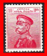 SERBIA SELLO AÑO 1905 King Peter I Karageorgevich - Serbia