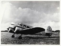 Rare Véritable Photo 24X18.5 Cm Avion Armée Française Années 50 - 1939-45