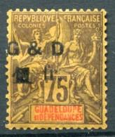 !!! PRIX FIXE : GUADELOUPE, N°49c NEUF * - Guadeloupe (1884-1947)