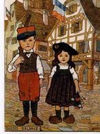 HANSI On Attend La Visite Du Cheneral, Gosses D'Alsace - Hansi