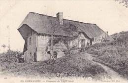 En Normandie, Chaumiere Du XVII Siècle (pk53861) - Haute-Normandie