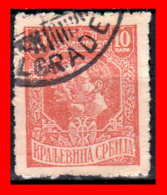 SERBIA SELLO AÑO 1918-20 King Peter And Prince Alexander - Serbia