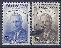 180030833  URUGUAY YVERT  Nº   621/2 - Uruguay