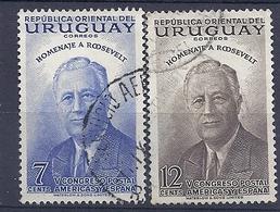 180030834  URUGUAY YVERT  Nº   621/2 - Uruguay