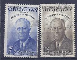 180030835  URUGUAY YVERT  Nº   621/2 - Uruguay