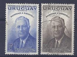180030836  URUGUAY YVERT  Nº   621/2 - Uruguay