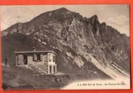 VAG-21 Col De Coux Sur Champéry Val D'Illiez. La Douane Suisse Et Douanier. Circulé 1911 Jullien 6085 - VS Valais