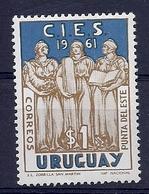 180030853  URUGUAY YVERT  Nº   692  */MH - Uruguay