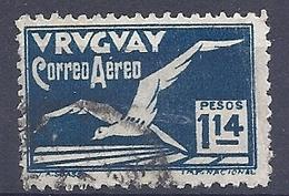 180030858  URUGUAY YVERT  AEREO  Nº   22 - Uruguay