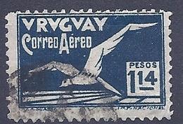 180030859  URUGUAY YVERT  AEREO  Nº   22 - Uruguay