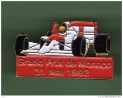 F1 *** GRAND PRIX DE MONACO 1992 *** 0100 - Automobile - F1