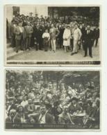 MONTECATINI 2 CARTOLINE FOTOGRAFICHE GOJORANI 1922/26 FP - Pistoia