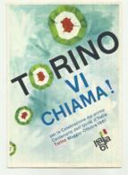 TORINO VI CHIAMA ! PER LA CELEBRAZIONE DEL PRIMO CENTENARIO DELL'UNITA' D'ITALIA NV FG - Italy