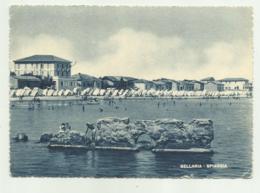 BELLARIA - SPIAGGIA  - VIAGGIATA FG - Rimini