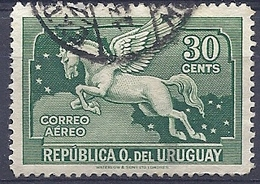 180030864  URUGUAY YVERT  AEREO  Nº   46 - Uruguay