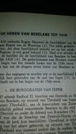 Publicatie DE HEREN VAN BESELARE TOT 1418 - Collections
