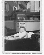 04    PHOTO   AUTOBUS  M. CARRARA  RIEZ CORRESPONDANCE POUR PUIMOISSON  TRES BON ETAT 8.5  X  6 - France