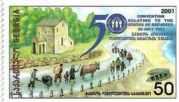 """Georgia.2002 Refugees """"2001"""". 1v: 50 Michel # 399 - Géorgie"""
