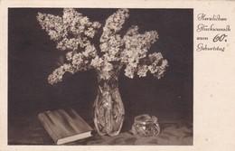 HERZLICHEN GLUCKWUNSCH ZUM 60, GEBURTSTAG, HAPPY BIRTHDAY. CIRCULEE 1938 GERMANY - BLEUP - Verjaardag