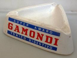 POSACENERE GAMONDI SUPER AMARO CERAMICHE PIOLA VINTAGE ITALY - Porcellana