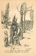 Thèmes Illustrateurs Poulbot, F N°24 EDIT.A.TERNOIS VOIR IMAGES - Poulbot, F.