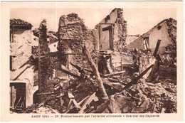 """CPA DROME.SAOU 1944.BOMBARDEMENT PAR L""""AVIATION ALLEMANDE.QUARTIER DES CAGNARDS - France"""