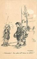 Thèmes Illustrateurs Poulbot, F N°40 EDIT.A.TERNOIS VOIR IMAGES - Poulbot, F.