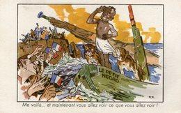 "(85)  CPA  "" Le Petit Negro ""  Me Voila  (Bon état) - Werbepostkarten"