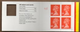 1988 4x 19p Booklet GD1 Control - Booklets