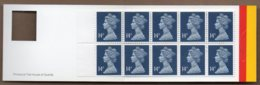 1988 10x 14p Booklet GK4 - Booklets