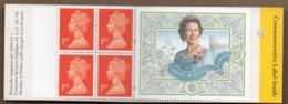 1996 4x 1st Booklet HB11 - Booklets