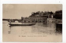BAYONNE - 64 - Rencontre De L'Adour Et De La Nive - Réduit - Gabarre De Pêcheur - Bayonne
