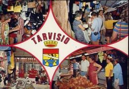 Tarvisio - Udine - Il Mercato - 376 - Formato Grande Viaggiata – E 10 - Udine