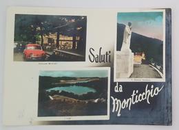 SALUTI DA MONTICCHIO (POTENZA) - Ristorante Marziano - San Giovanni Gualberto - I Laghi  Vg - Potenza