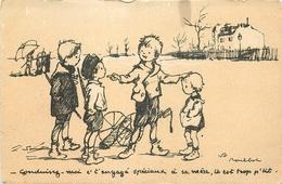 Thèmes Illustrateurs Poulbot, F N°60 EDIT.A.TERNOIS VOIR IMAGES - Poulbot, F.