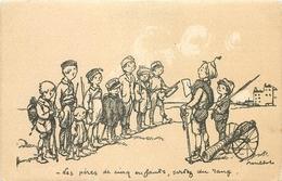 Thèmes Illustrateurs Poulbot, F N°61 EDIT.A.TERNOIS VOIR IMAGES - Poulbot, F.