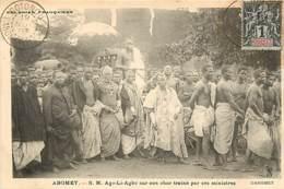 DAHOMEY ABOMEY S.M AGO LI AGBO SUR SON CHAR TRAINE PAR SES MINISTRES - Dahomey