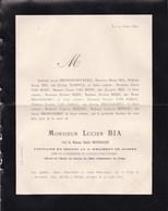 CONGO Lucien BIA Capitaine 2e Guides Chef De L'expédition Du KATANGA Par LUSAMBO Liège 1852 - NTENKE 1892 - Décès