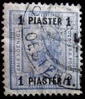 """1905 Levant Autrichien Yt 41a. """"PIASTER"""" On Emperor Franz Joseph .Oblitérés Used - Levant Autrichien"""