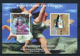 Rep. De Guinée 1998. Picasso Bloc MNH ** No Dentado / IMPERFORATED - República De Guinea (1958-...)