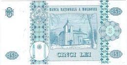 Moldavia - Moldova 5 Leu 2006 Pick 9e UNC - Moldavie