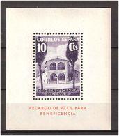 Spain 1936 HUÉVAR GÁLVEZ Bloc PRO BENEFICIENCY MH BONITO MNH(**) - 1931-Heute: 2. Rep. - ... Juan Carlos I